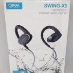 נגן MP3 עמיד במים דגם SWING-X9 CORAL