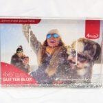 קריסטל שלג/פייטים/לבבות/  עם הדפסת תמונה אישית לפי בחירתכם