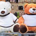 הדפסה תמונה על דובי ענק