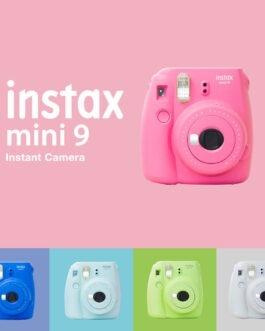 מצלמת Instax mini9 המדפיסה את הצילומים במקום