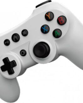 בקר משחק אלחוטי Sparkfox Bluetooth Dual Vibration – צבע לבן עבור מחשב PC ואנדרואיד