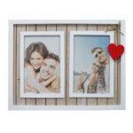 מסגרת ענבל עץ 2 תמונות