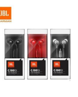 אוזניות In-ear עם מיקרופון JBL C100SI