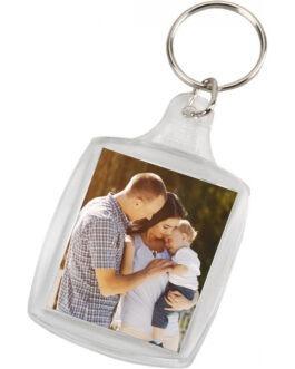 מחזיק מפתחות שקוף עם תמונה אישית לפי בחירתכם
