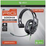אוזניות גימינג קשת Plantronics RIG 100HX ל- Xbox One