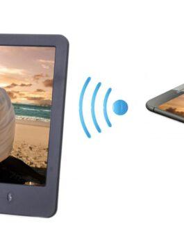 """מסגרת WiFi דיגיטלית """"10.1 דגם Cloud ניתן לשתף תמונות על גבי הצג מכל מקום בעולם!"""