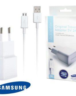 מטען קיר ראש USB מקורי סמסונג 5V 2A כולל כבל – יבואן רשמי סאני תקשורת