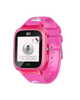 שעון טלפון חכם לילדים | Hello Kitty | KidiWatch | כולל כרטיס SIM